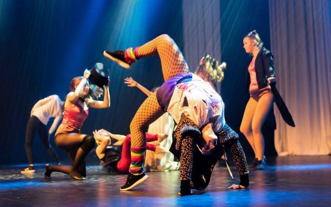 Die Tanzwerkstatt im Saarpark-Center am 10. Februar